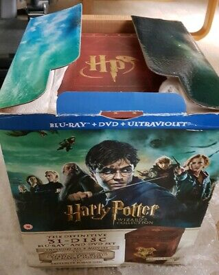 The Harry Potter Ltd. Edition Wizard's Collection Blu-Ray Boxset - Ex. Condition