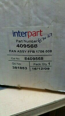 Genuine Interpart Spare Fan Assy Ffb1706 008  Part Number 409568    (11A)