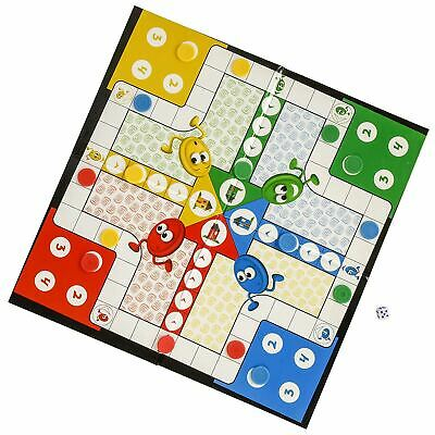 Traditional Games Ludo Family Board Game Set HTI Toys