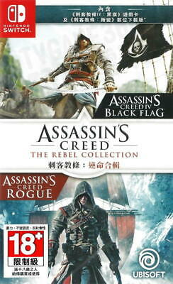 Assassin's Creed: The Rebel Collection For Nintendo Switch NS (Multi-Language)