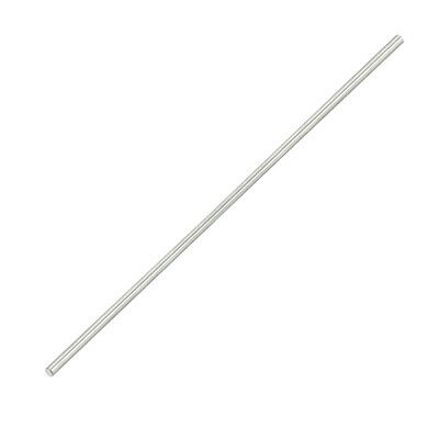 2mm Dia 200mm Length Stainless Steel Solid Round Shaft Rod for RC Model Toy
