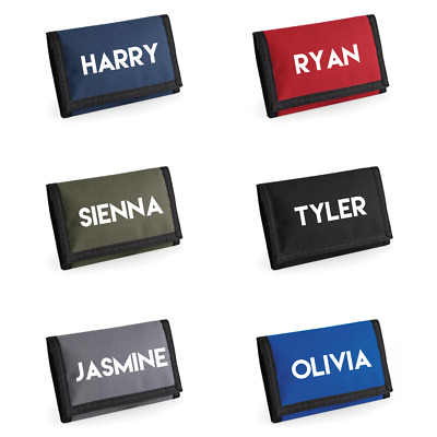Personalised Wallets With Desired Name For Kids Great Present