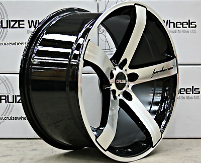 "18"" Bmf Blade Alloy Wheels For Kia Magentis Niro Oprius Optima Pro Ceed 114"