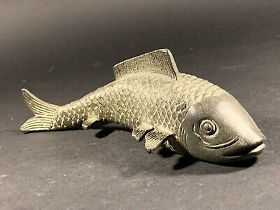 Absolutely Beautiful Museum Quality - Large Size - Ancient Medieval Bronze Fish