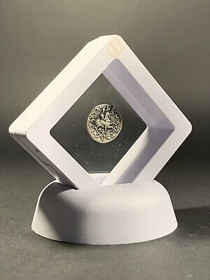 Ancient Baktrian & Indo Greek Silver Drachma Coin Of Antimachos Circa. 171-160Bc