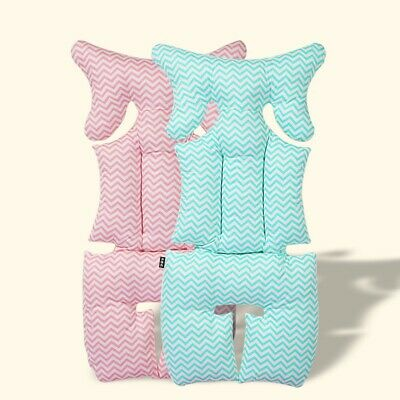 Baby Stroller Seat Pad Cotton Soft Car Seat Cushion Infant Child Cart Mattr W2P5