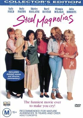 Steel Magnolias DVD - Dolly Parton, Sally Field, Julia Roberts - BRAND NEW