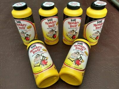 Anti Monkey Butt with Calamine - Lot of 6 bottles - 6 oz. each - Sweat Absorber