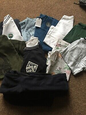 Bundle Of Boys Age 9 Tops T Shirts Next George & Hoody