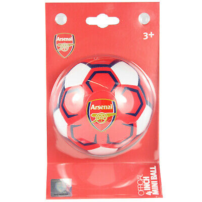 Arsenal FC Football Club 4 Inch Mini Soft Ball Official Licensed Team Football