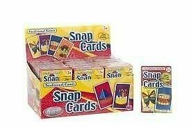 Traditional Games Snap Card Playing Game For Kids Boys & Girls HTI Toys