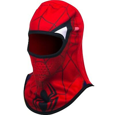Childrens Kids Boys Official Licensed Spiderman Balaclava Hat One Size