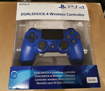 OFFICIAL Sony PlayStation PS4 DualShock 4 V2 Controller (Wave Blue) UK SELLER