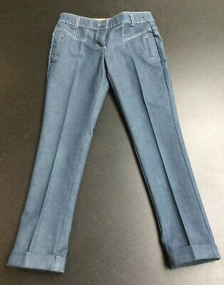 Next Girls Denim Smart Tailored Tapered Leg Jeans.  Age 10 Years.  Immaculate