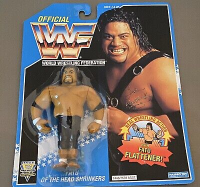 WWF//WWE Hasbro Custom orange Carte Lot de 7 Diesel Jarrett Luger Doink Mattel LJN