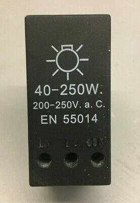 UNBRANDED 40-250W Dimmer replacement module 200-250V (AC)