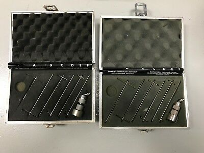 Excellent and Complete Brookfield Helipath Spindle Set
