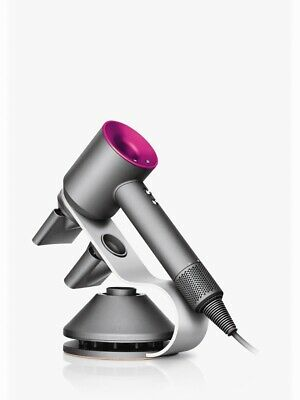 Dyson Supersonic Hairdryer Including Stand - Iron & Fuchsia - New Sealed