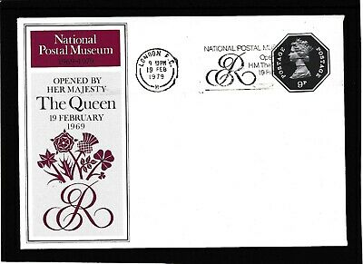 GB 1969 Opening of the National Postal Museum - Postally Valid Souvenir Sheet.