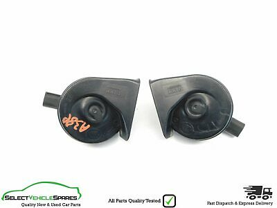 Audi A3 8P Genuine Pair Of High/Low Tone Horns Horn Facelift 2008-2012