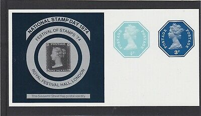 GB 1974 National Stamp Day - Postally Valid Sheet - Mint.