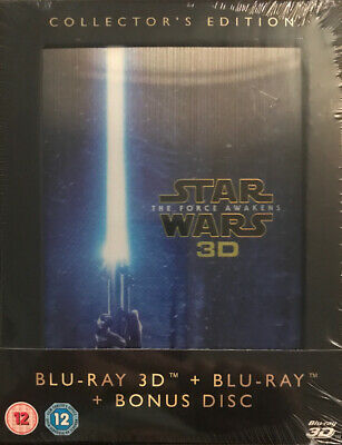 Star Wars - The Force Awakens 3D Blu Ray - e Disc Collectors Edition