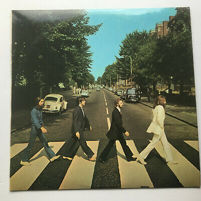 "THE BEATLES UK 1st PRESS ""ABBEY ROAD RARE BLACK DIE CUT INNER NO ""HER MAJESTY"""