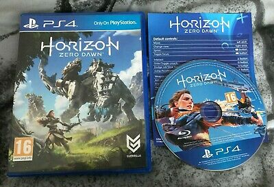 Horizon Zero Dawn Playstation PS4 Game