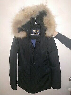 WOOLRICH PARKA JACKET Cappotto Giubbotto Giubbino Coat Giacca Tg XS Donna Woman