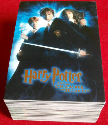 HARRY POTTER - CHAMBER OF SECRETS - COMPLETE BASE SET - 90 cards - ARTBOX 2006