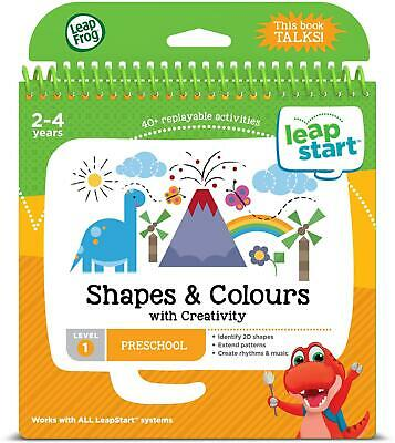 Leapfrog SHAPES, COLOURS, AND CREATIVITY ACTIVITY BOOK Learning Leapstart BNIP