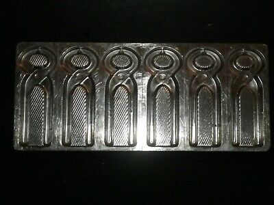 Professional, vintage metal chocolate mold, mould, cutters