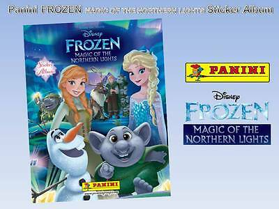 2016 Buy4Get 10 Free Panini Frozen Magic Of The Northern Lights Single Stickers