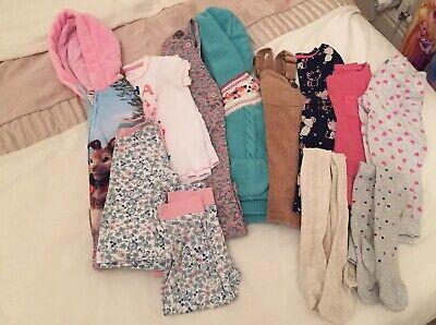 Large Bundle Of Little Girls Clothes. Age 2-3 Years.