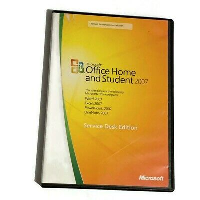 Microsoft Office Home & Student 2007 Service Desk Edition  With products Key