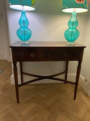 Elegant Quality Mahogany Hall Console Table or Small Desk