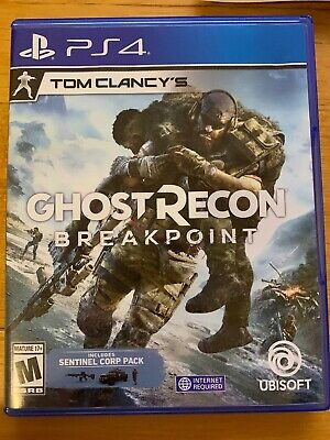 Tom Clancy's Ghost Recon Breakpoint PS4 (Sony Playstation 4, 2019), Great!