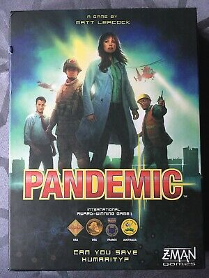 Pandemic 2012 Board Game by Z-Man games - Used, in very good condition, complete