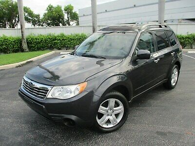 2010 Subaru Forester FORESTER X VERY CLEAN FORESTER X NO ACCIDENTS FLORIDA CLEAN TITLE
