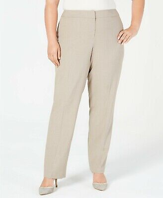 Nine West  Plus Size Straight-Leg Pants Size 16W - M994