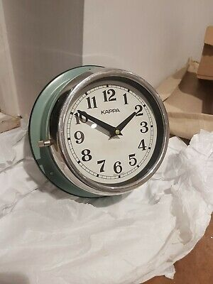 Vintage Original Slave Clocks Nautical Marine Time Ship Kappa Quartz industrial