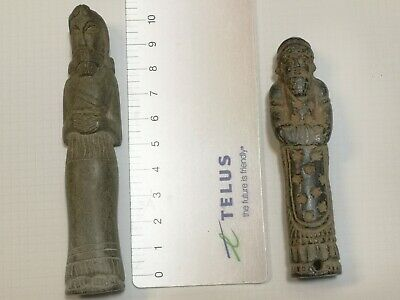 ANCIENT Babylonian  Stone statuette 2