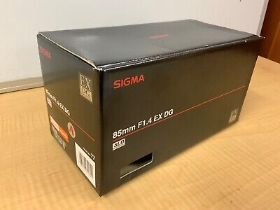Sigma 85mm F1.4 EX DG For Sony Alpha 65 & 77