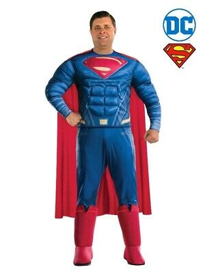 Superman Deluxe Adult Plus Size Costume Rubies
