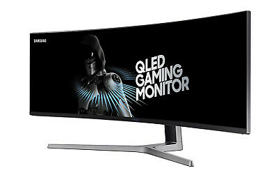"""【EXTRA 20%OFF】Samsung CHG90 49"""" QLED Curved Gaming Monitor 3840X1080 144Hz 32:9"""
