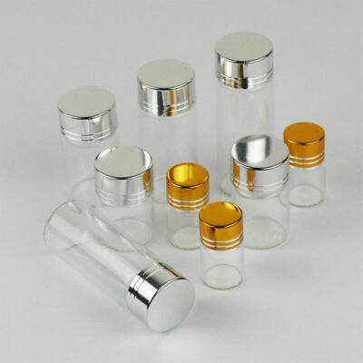 2ML 5ML 10ML 15ML Glass Bottle Wishing Bottle Oil Bottles Small Drift Bottles
