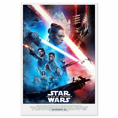 """Star Wars: The Rise of Skywalker Movie Poster 24x36"""" Official Certified Print"""