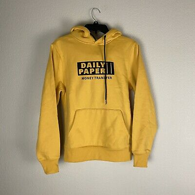 Daily Paper Money Transfer Mens Size XS Hoodie Jacket NWT