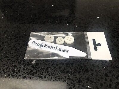 Polo Ralph Lauren Collar Stiffeners And Spare Buttons