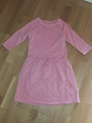 Next girls pink sporty/ casual cotton dress 13 years